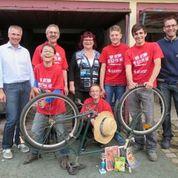 Team Christlicher Verein Oberlichtenau; Fahrradwerkstatt