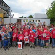 Team Grundschule Oberlichtenau; Schulhofpflege