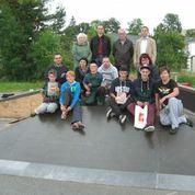 Team Jugendgruppe AG Freizeit Großröhrsdorf; Skateranlage bauen