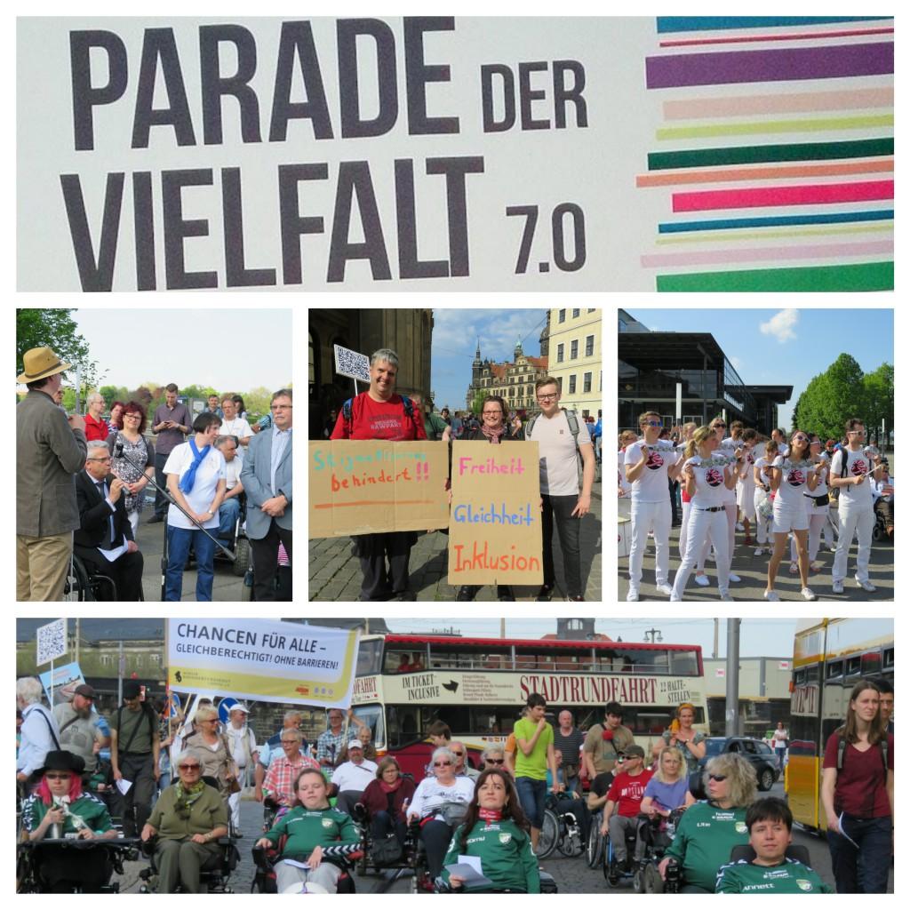 Parade der Vielfalt_Collage