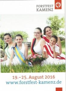 Forstfest 2016